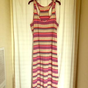 Long stretchy maxi dress